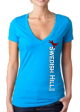 Women's Logo V-neck shirts