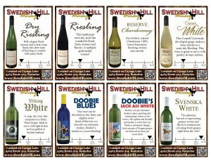 White Wine Shelf Talkers